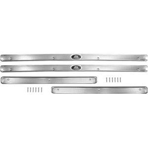 OER 1955-57 Chevrolet Door Sill Plates - 4 Door - 4 Piece Set TF100263