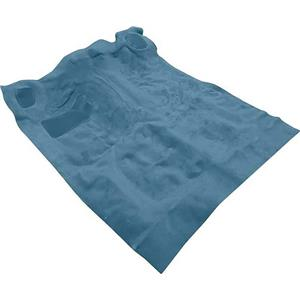 OER 82-93 S10 / S15 Extended Cab 4 Wheel Drive Pick Up Blue Cut Pile Carpet Set TS17103C7
