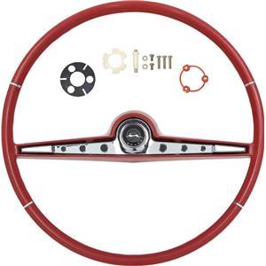 OER 1962 Impala Steering Wheel Kit ; Red *R62002