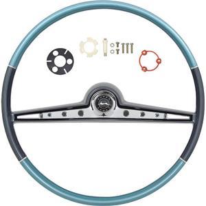 OER 1962 Impala Steering Wheel Kit ; Two Tone Blue *R62013