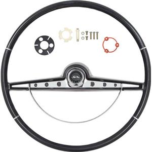 OER 1963 Impala Steering Wheel Kit ; Black *R63001
