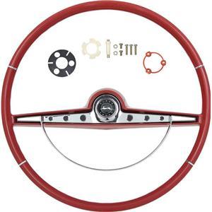 OER 1963 Impala Steering Wheel Kit ; Red ; Super Sport *R63012