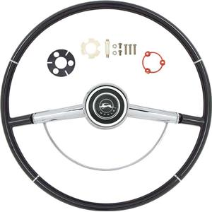 OER 1964 Impala Steering Wheel Kit ; Black *R64001