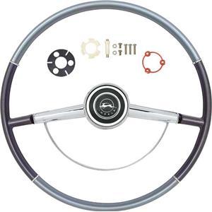 OER 1964 Impala Steering Wheel Kit ; Two Tone Blue *R64003