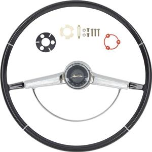 OER 1965 Impala Steering Wheel Kit ; Black *R65001