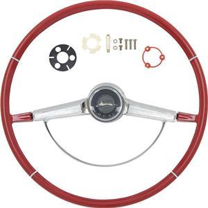 OER 1965 Impala Steering Wheel Kit ; Red *R65002