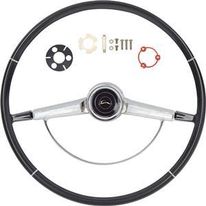 OER 1966 Impala Steering Wheel Kit ; Black *R66001