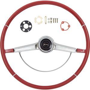 OER 1966 Impala Steering Wheel Kit ; Red *R66002