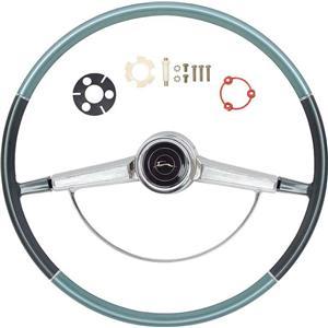 OER 1966 Impala Steering Wheel Kit ; Two Tone Blue *R66003