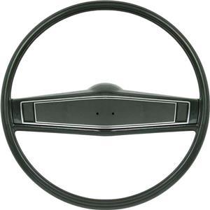 OER 1969-70 Steering Wheel Kit - Dark Green - Standard Interior *R3497