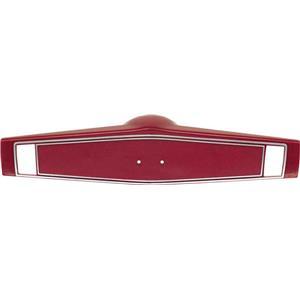 OER 1969-70 Steering Wheel Shroud ; Red 3961775