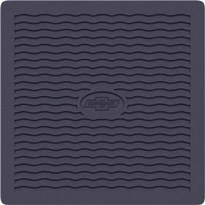 OER 1955-56 Chevy Black Factory Accessory Floor Mats with Bow Tie Logo M55001