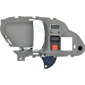 OER 95-02 GM C/K Truck Inner Door Handle - Chrome Lever w/ Gray Housing; LH 15708043CH