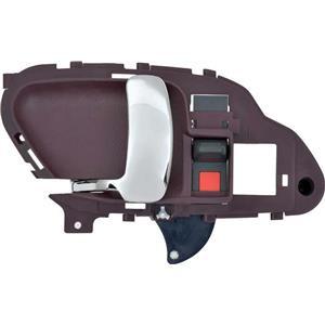 OER 95-02 GM C/K Truck Inner Door Handle - Chrome Lever w/ Red Housing; LH 15708049CH