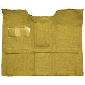 OER 1969-72 Blazer/Jimmy High Hump Gold Passenger Area Molded Loop Carpet Set TB14105B4P