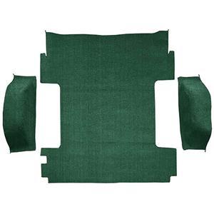 OER 1969-72 Blazer / Jimmy Without CST Dark Green Cargo Area Molded Loop Carpet Set TB14113B1X