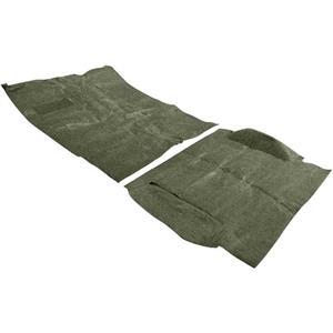OER 69-72 Blazer w/o CTS W/ High Hump Moss Green Complete Molded Loop Carpet Set TB14114B4C