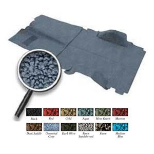 OER 69-72 Blazer w/o CTS / Low Hump Medium Blue Complete Molded Loop Carpet Set TB14184B1C