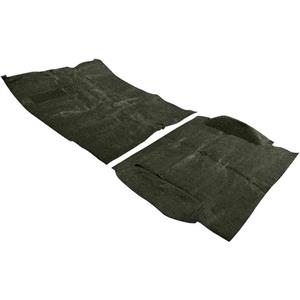 OER 69-72 Blazer W/ CTS / W/ Low Hump Dark Olive Green Complete Molded Loop Carpet TB14238B1C