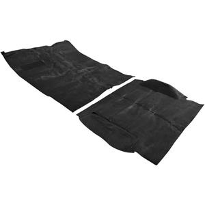 OER 1973-74 Blazer / Jimmy 4 Wheel Drive Black Passenger Area Molded Loop Carpet Set TB16101B4P