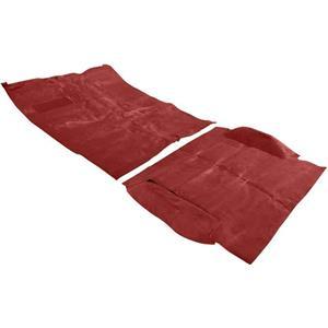 OER 1973-74 Blazer / Jimmy 2 Wheel Drive Red Complete Molded Loop Carpet Set TB16102B1C