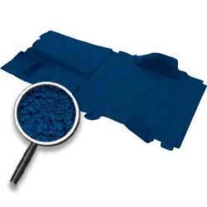OER 1973-74 Blazer / Jimmy 2 Wheel Drive Blue Passenger Area Loop Carpet TB16108B1P