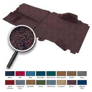 OER 73-77 Blazer / Jimmy 4wd Brown Passenger Area Molded Cut Pile Carpet Set TB16171C4P