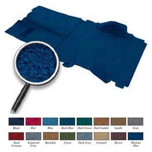 OER 1973-74 Blazer / Jimmy 4 Wheel Drive Medium Blue Complete Molded Loop Carpet Set TB16184B4C