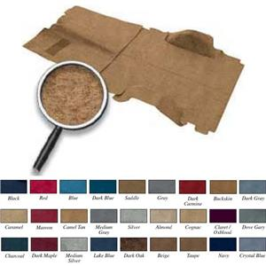 OER 78-80 Blazer / Jimmy 4wd Camel Passenger Area Molded Cut Pile Carpet Set TB16220C4P