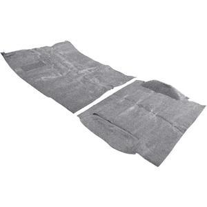 OER 81-84 Blazer 2 Wheel Drive Medium Gray Passenger Area Molded Cut Pile Carpet Set TB17125C1P