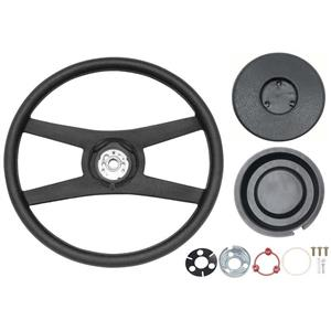 OER 1971-81 GM Sport Steering Wheel Kit - Rope Design Wheel - 4 Spoke *881355