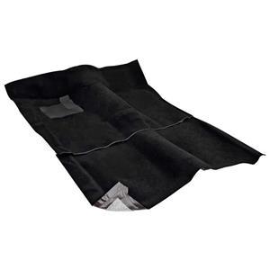 OER 1962-67 Nova 2-Door W/ AT - Loop Carpet Set - Black NC62671101