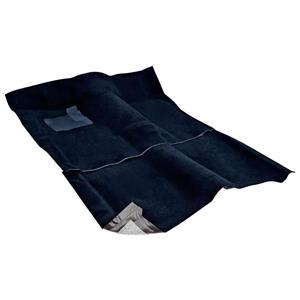 OER 1962-67 Nova 2-Door W/ AT - Loop Carpet Set - Dark Blue NC62671112