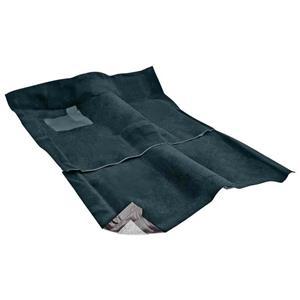 OER 1962-67 Nova 2-Door W/ AT - Loop Carpet Set - Dark Teal NC62671116