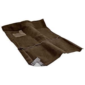 OER 1962-67 Nova 2-Door W/ AT - Loop Carpet Set - Dark Saddle NC62671118