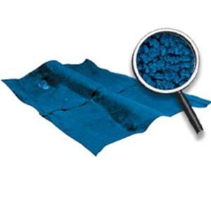 OER 62-67 Nova 2-Door W/AT - Loop Carpet Set (W/Mass Backing) - Bright Blue NC62671204