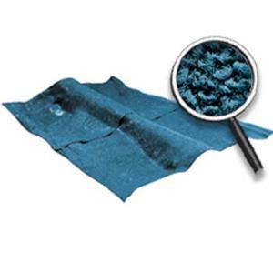 OER 62-67 Nova 2-Door W/AT - Loop Carpet Set (W/Mass Backing) - Medium Blue NC62671208