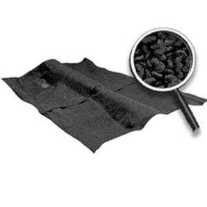 OER 62-67 Nova 2-Door W/ 4-Speed MT - Loop Carpet Set W/ Mass Backing - Black NC62672201
