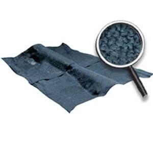 OER 62-67 Nova 2-Dr W/ 4-Speed MT - Loop Carpet Set W/ Mass Backing - Gunmetal Gray NC62672235