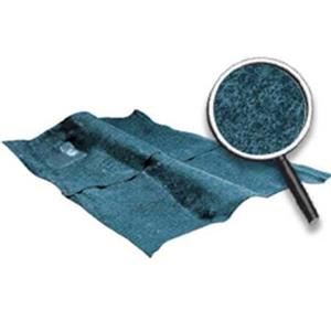 OER 68-79 Nova 2 Or 4 Dr W/ Console Medium Blue Cut Pile Carpet Set W/ Mass Backing NC74792208