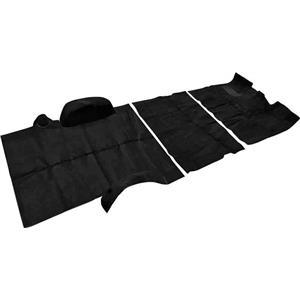 OER 67-72 Suburban 2 Wheel Drive W/ AT (except TH400) Black Complete Loop Carpet Set TN14101B2C