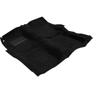 OER 65-70 Impala 2 Door W/ 4 Speed Black Molded Loop Carpet Set W/ Mass Backing B26252B01