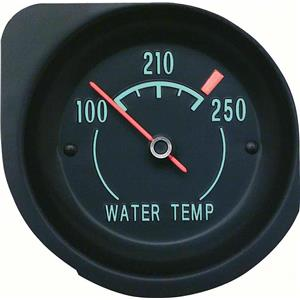 OER 1968-71 Corvette Temperature Gauge - With Green Markings 6490857A