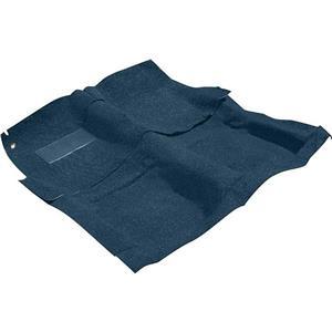 OER 65-70 Impala / Full Size 2 Door W/ Automatic Medium Blue Molded Loop Carpet Set B2020B08
