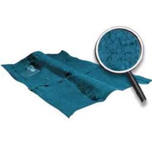 OER 74-76 Impala / Full Size 2 Door Blue Molded Cut Pile Carpet Set W/ Mass Backing B2723P08