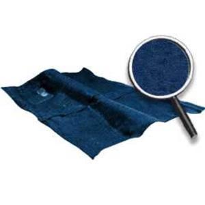 OER 74-76 Impala 2 Door Dark Blue Molded Cut Pile Carpet Set W/ Mass Backing B2723P12