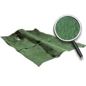 OER 74-75 Impala 2 Door Willow Green Molded Cut Pile Carpet Set W/ Mass Backing B2723P35