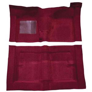 OER 1966-71 Fairlane/Torino 2-Door w/ Floor Shift - Molded Loop Carpet Kit - Maroon F9194315