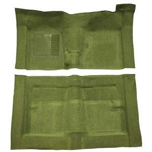 OER 66-71 Fairlane/Torino 2-Dr w/ Floor Shift - Molded Loop Carpet Kit - Moss Green F9194319