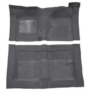 OER 66-71 Fairlane/Torino 2-Dr w/ Floor Shift Molded Loop Carpet Kit Gunmetal Gray F9194347